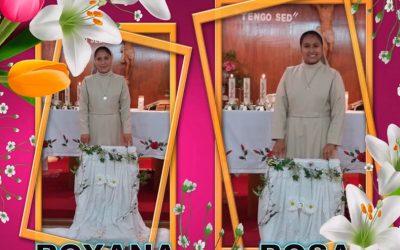 Renovación de Votos Temporales de Roxana García y Rosa Elvira Hernández  – 12-10-2016