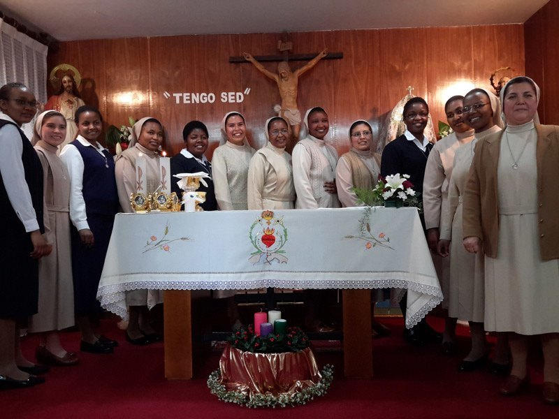 Votos Perpetuos de nuestra Hna. Mery Mutio Mutua y Renovación de Votos Temporales de Marina Marilú Sánchez – 14-12-2019