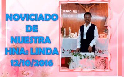 Noviciado de nuestra Hernana Linda   – 25-10-2016